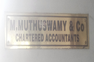 M. Muthuswamy & Co