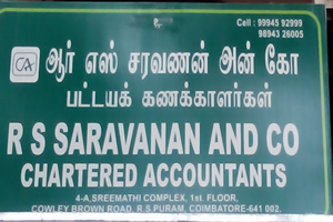 RS Sarvanan And Co