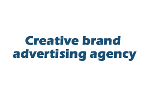 Creative brand advertising agency