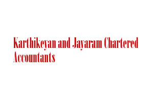 Karthikeyan and Jayaram Chartered Accountants