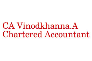 CA Vinodkhanna.A Chartered Accountant