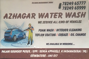 Azhagar Water Wash