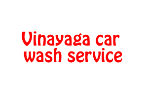 Vinayaga car wash service