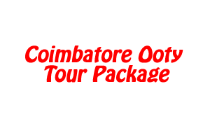 Coimbatore Ooty Tour Package