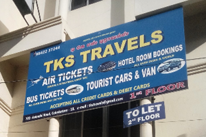 TKS Travels Air ticket booking centre